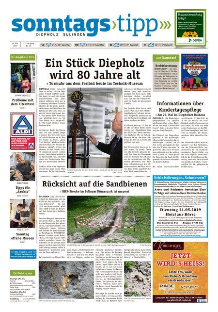 Sonntags-Tipp Diepholz-Sulingen vom 18.05.2019