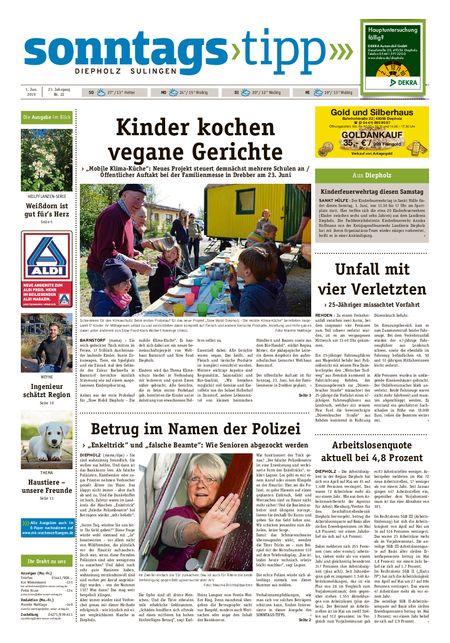 Sonntags-Tipp Diepholz-Sulingen vom 01.06.2019