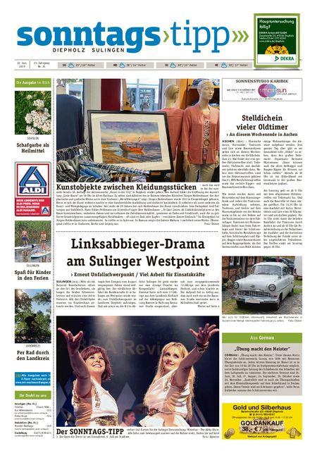 Sonntags-Tipp Diepholz-Sulingen vom 22.06.2019