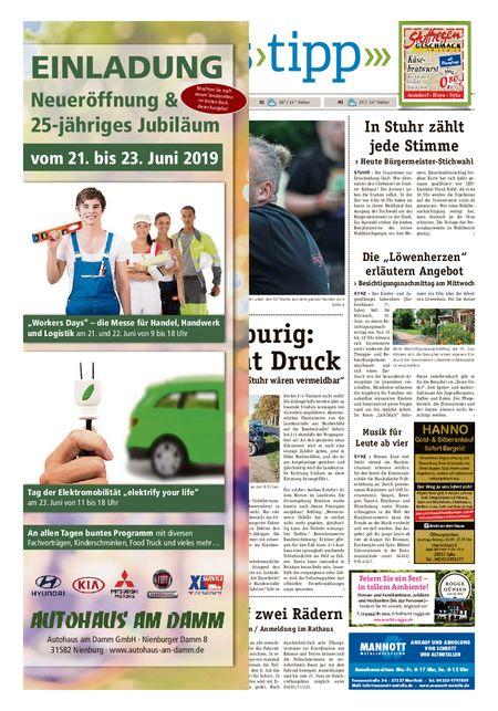 Sonntags-Tipp Syke-Weyhe-Bassum vom 16.06.2019