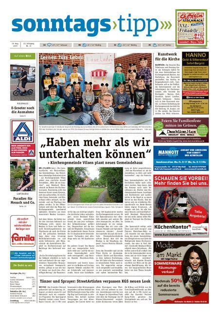 Sonntags-Tipp Syke-Weyhe-Bassum vom 18.08.2019