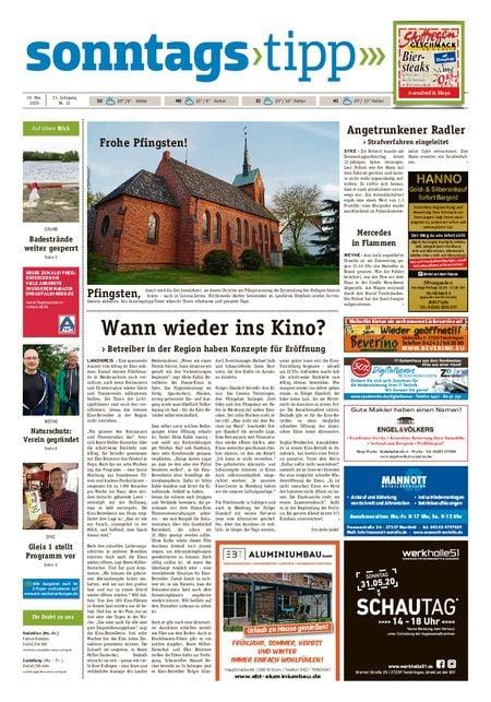Sonntags-Tipp Syke-Weyhe-Bassum vom 30.05.2020