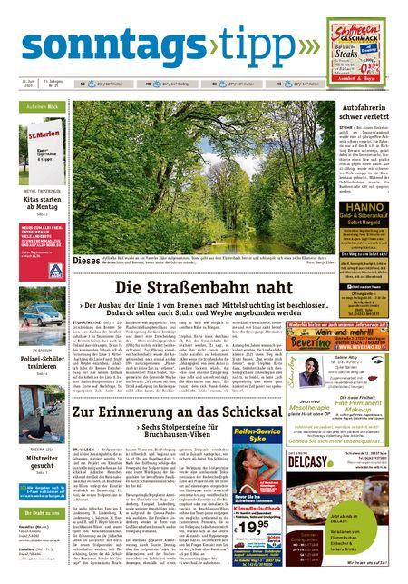 Sonntags-Tipp Syke-Weyhe-Bassum vom 20.06.2020
