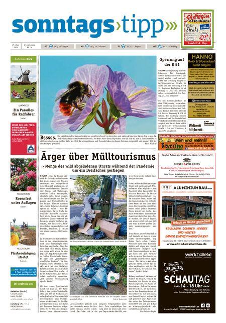 Sonntags-Tipp Syke-Weyhe-Bassum vom 27.06.2020