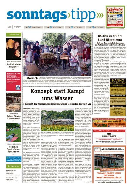 Sonntags-Tipp Syke-Weyhe-Bassum vom 05.09.2020
