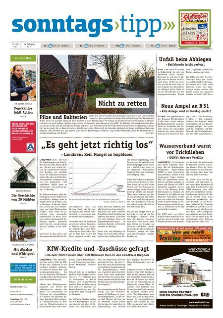 Sonntags-Tipp Syke-Weyhe-Bassum vom 27.02.2021