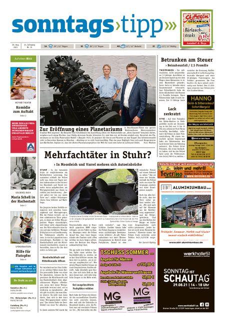 Sonntags-Tipp Syke-Weyhe-Bassum vom 28.08.2021