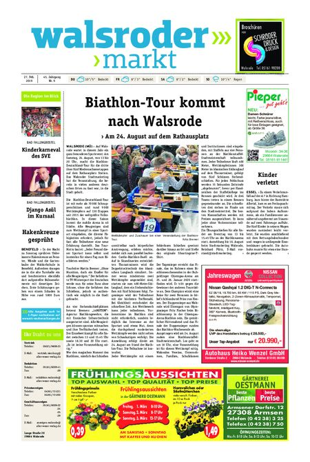 Walsroder Markt vom 27.02.2019