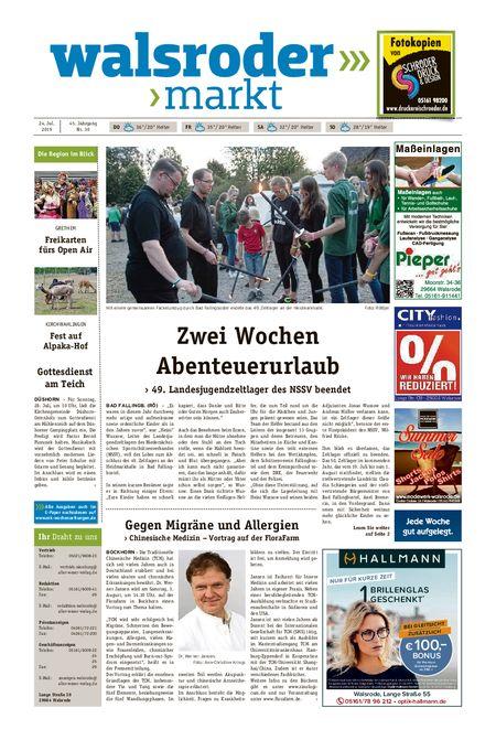 Walsroder Markt vom 24.07.2019