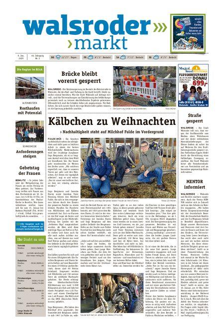 Walsroder Markt vom 08.01.2020
