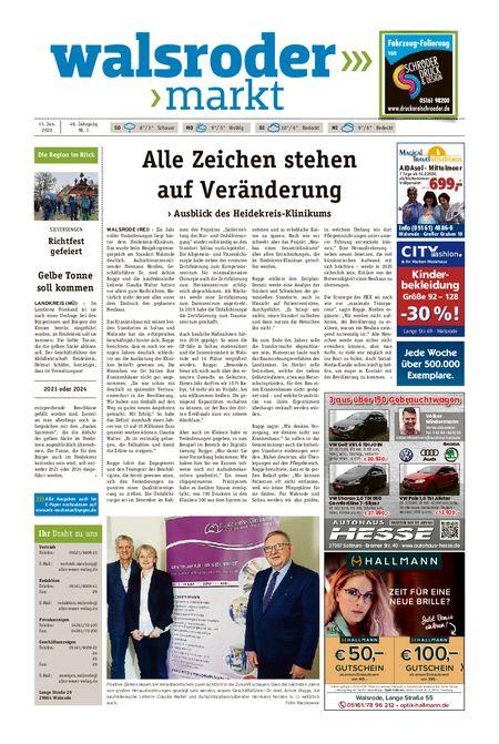 Walsroder Markt vom 15.01.2020