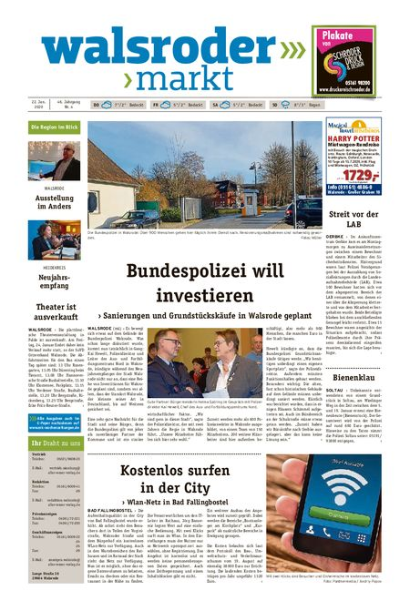 Walsroder Markt vom 22.01.2020