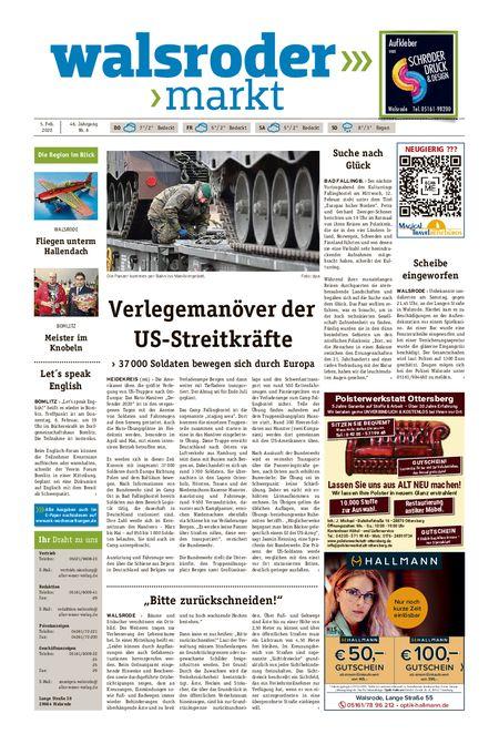 Walsroder Markt vom 05.02.2020