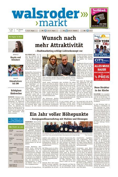 Walsroder Markt vom 12.02.2020