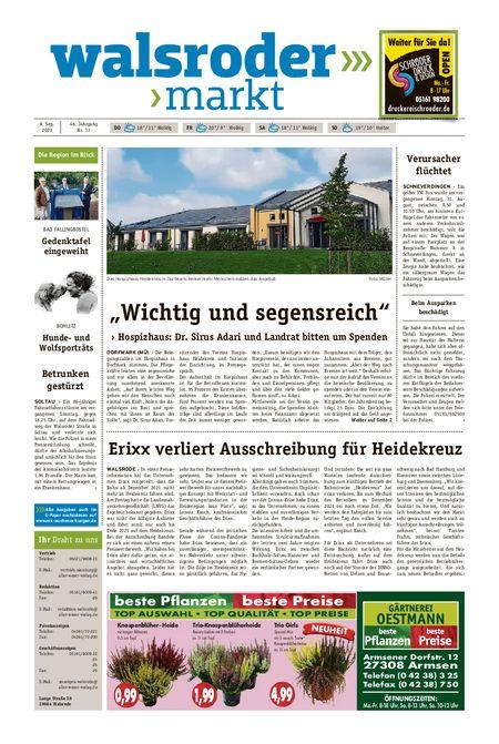 Walsroder Markt vom 09.09.2020