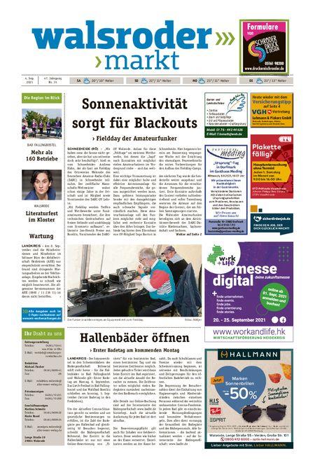 Walsroder Markt vom 04.09.2021