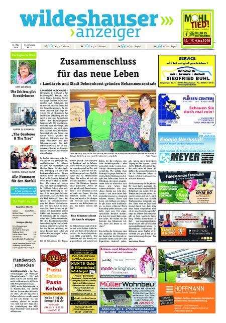 Wildeshauser Anzeiger vom 14.03.2019