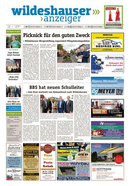 Wildeshauser Anzeiger vom 09.05.2019