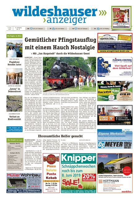 Wildeshauser Anzeiger vom 06.06.2019