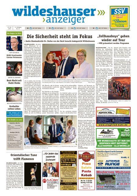 Wildeshauser Anzeiger vom 25.07.2019