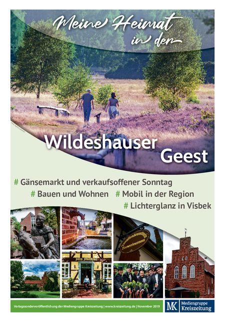 Wildeshauser Anzeiger vom 07.11.2019