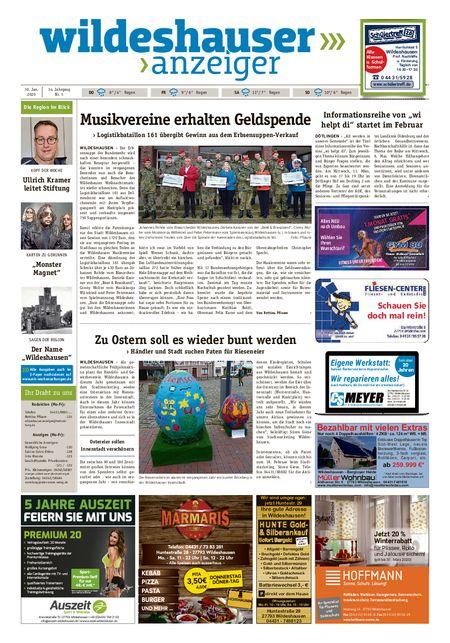Wildeshauser Anzeiger vom 30.01.2020