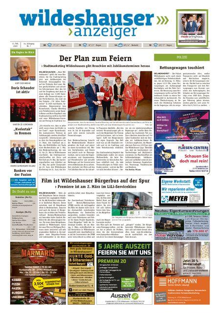 Wildeshauser Anzeiger vom 13.02.2020