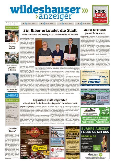 Wildeshauser Anzeiger vom 20.02.2020