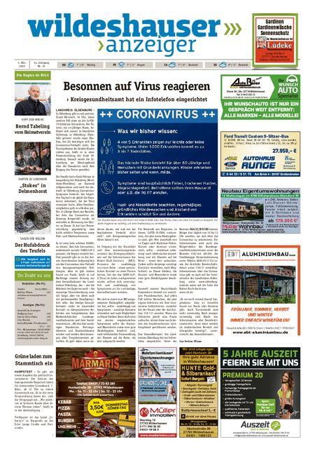 Wildeshauser Anzeiger vom 05.03.2020