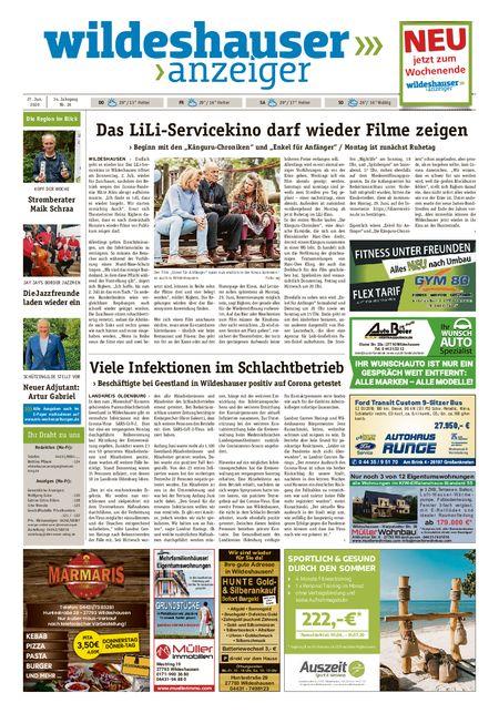 Wildeshauser Anzeiger vom 25.06.2020