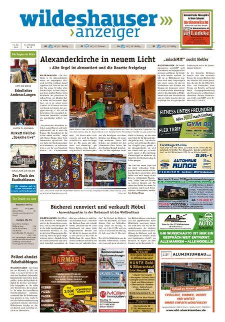 Wildeshauser Anzeiger vom 09.07.2020