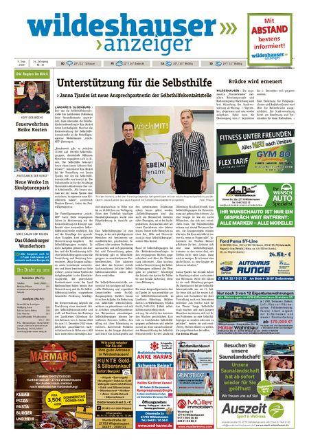 Wildeshauser Anzeiger vom 03.09.2020