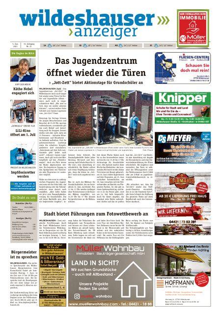Wildeshauser Anzeiger vom 05.06.2021