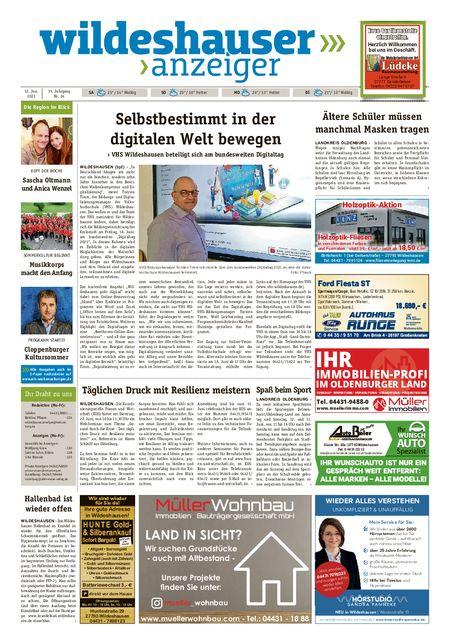 Wildeshauser Anzeiger vom 12.06.2021