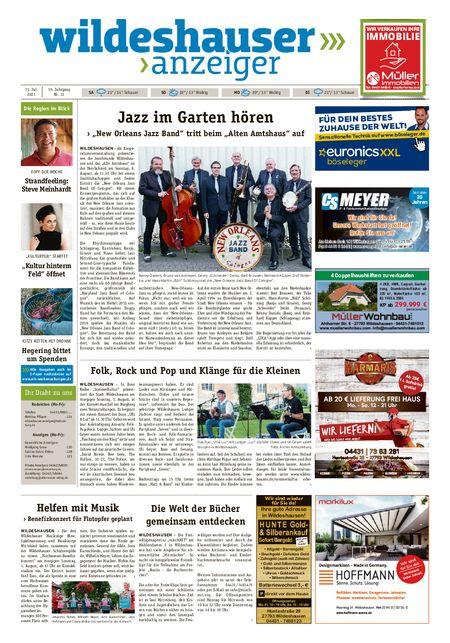 Wildeshauser Anzeiger vom 31.07.2021
