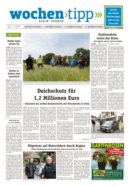 Wochen-Tipp Achim vom 17.06.2020
