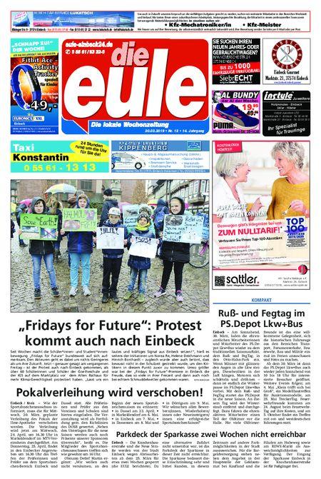 Die Eule - Wochenmitte vom 20.03.2019