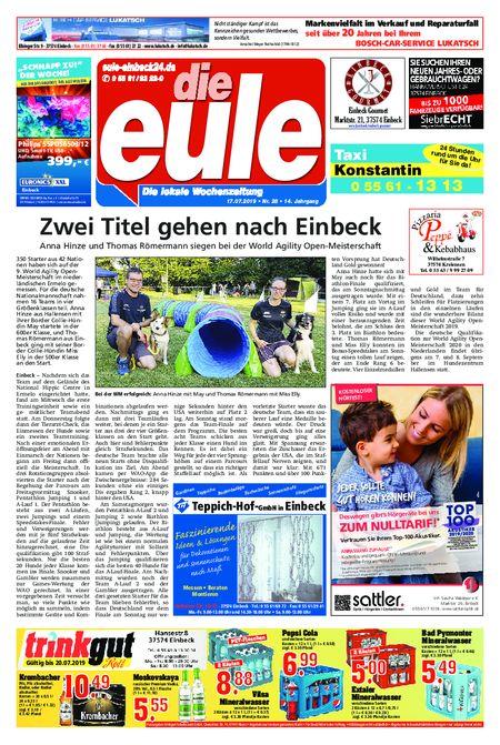Die Eule - Wochenmitte vom 17.07.2019