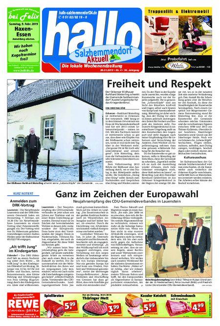 Salzhemmendorf Aktuell vom 26.01.2019