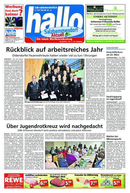 Salzhemmendorf Aktuell vom 16.02.2019