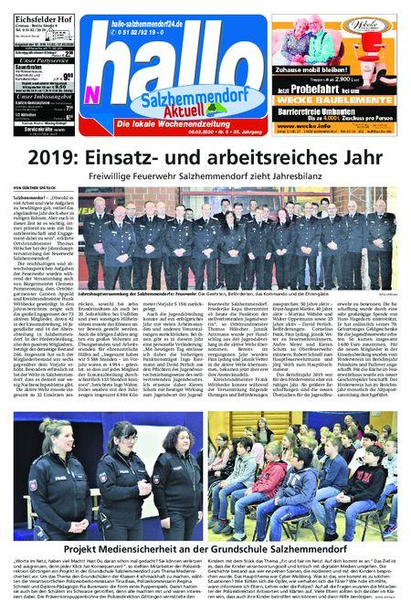 Salzhemmendorf Aktuell vom 08.02.2020