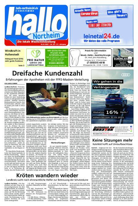 Lokalnachrichten aus dem Landkreis Northeim