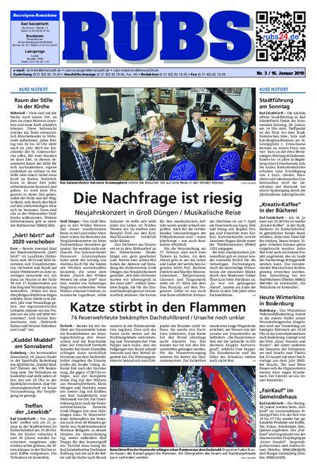 Rund um Bad Salzdetfurth vom 16.01.2019