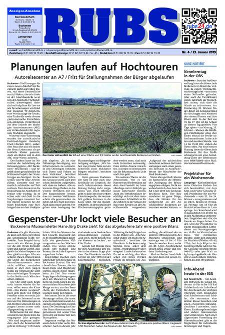 Rund um Bad Salzdetfurth vom 23.01.2019