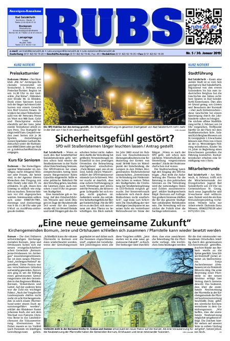 Rund um Bad Salzdetfurth vom 30.01.2019