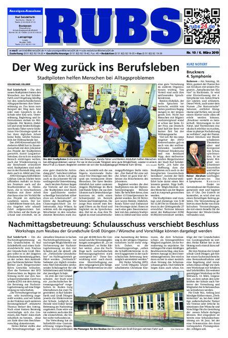 Rund um Bad Salzdetfurth vom 06.03.2019