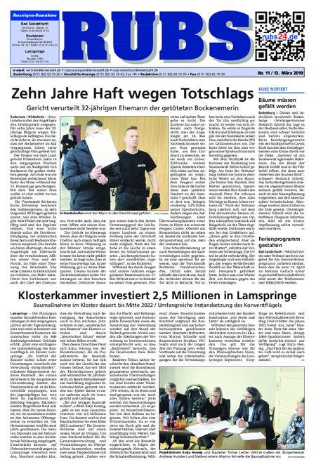 Rund um Bad Salzdetfurth vom 13.03.2019