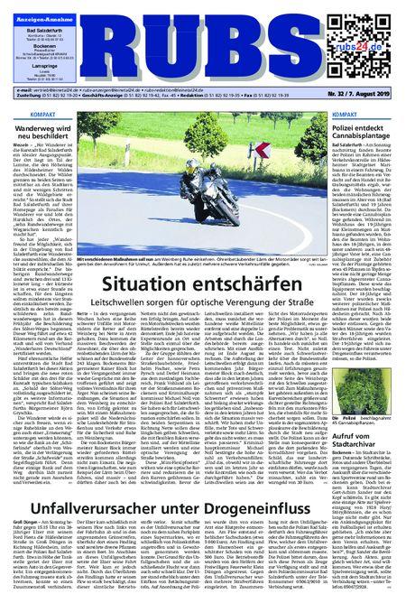 Rund um Bad Salzdetfurth vom 07.08.2019