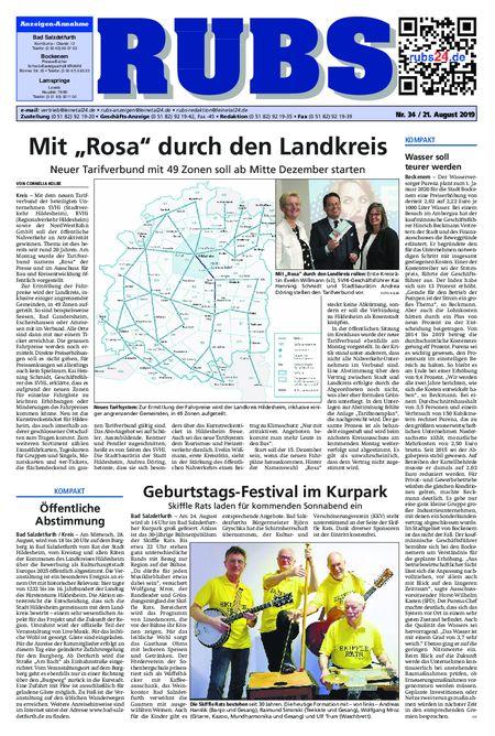 Rund um Bad Salzdetfurth vom 21.08.2019