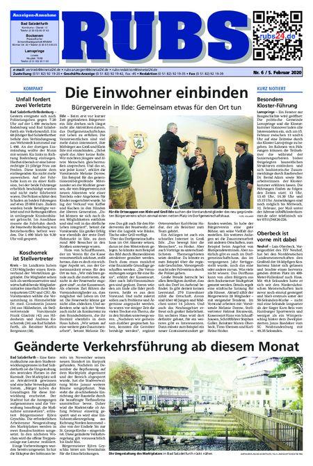 Rund um Bad Salzdetfurth vom 05.02.2020